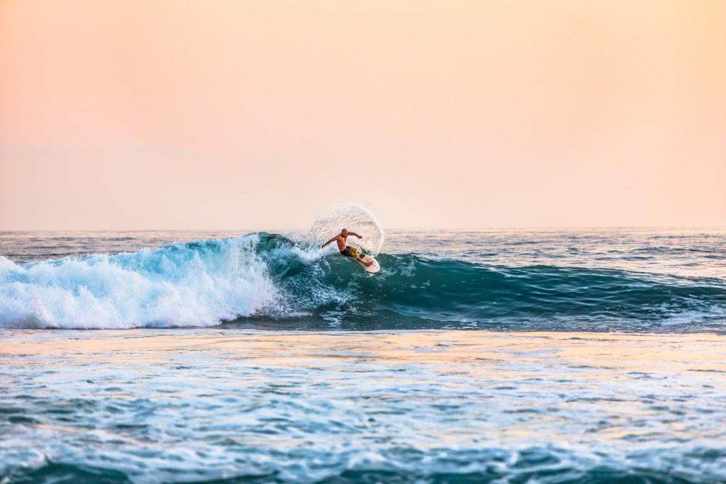 サーフィンのリッピング